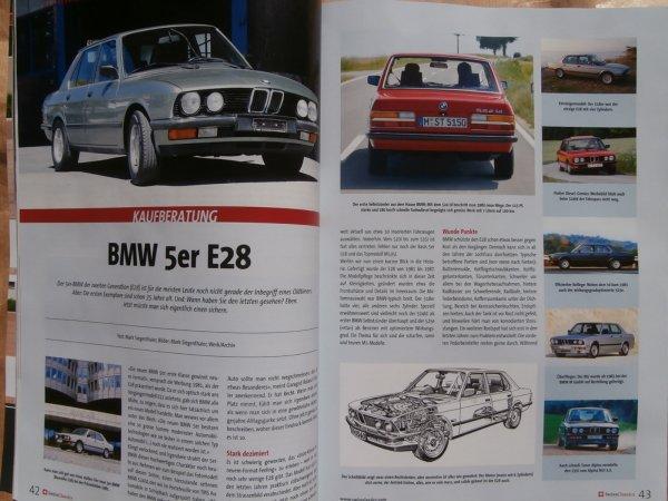 Ersatzteile E28de Bmw 5er Reihe E28 Kaufberatung